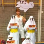 Minioren Clubmeet zwemmers van ZPD